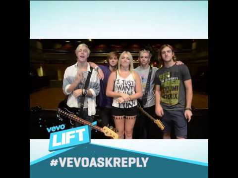 R5 are the next #VevoLIFT artists! (видео)