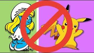Bu videoda yayınlanması yasaklanan çizgi filmler var. Çeşitli ülkelerde Şirinler, Winnie-the-Pooh, Simpsonlar, Sünger Bob, South Park gibi filmlerin izlenmesi otoriteler tarafından bir sebepten yasaklandı.Mediakraft'ın diğer kanallarındaki eğlenceli videoları izlemek için tıklayın:► Yapyap: https://www.youtube.com/yapyap► Oyun Delisi: https://www.youtube.com/oyundelisi► BonbonTV https://www.youtube.com/bonbontvBizi Facebook'ta takip edin: ► http://facebook.com/MediakraftTurk