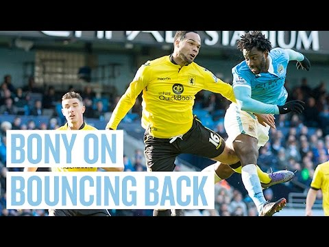 Video: PATIENCE WAS KEY | Wilfried Bony Reaction | City 4-0 Aston Villa