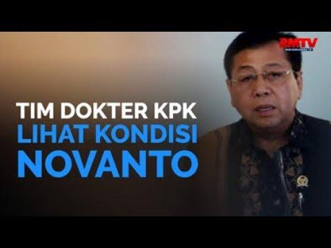 Tim Dokter KPK Lihat Kondisi Novanto