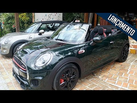 Novo MINI Cabrio chega ao Brasil