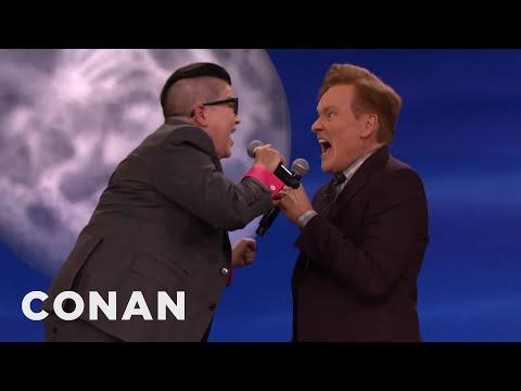 Download Lea DeLaria & Conan Scat Some Jazz  - CONAN on TBS HD Mp4 3GP Video and MP3
