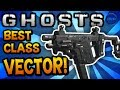 "COD Ghosts: ""VECTOR"" - BEST CLASS SETUP! (Beast) - Call of Duty: Ghost Gameplay"