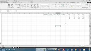 شرح برنامج اكسيل  2013 Excel لطارق النجار