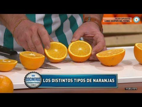 Todo sobre naranjas de jugo y de ombligo con Adrián Schirosa