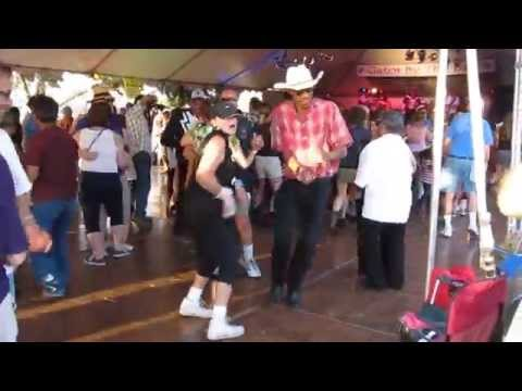 Zydeco dancing to Chubby Carrier & Bayou Swamp Band