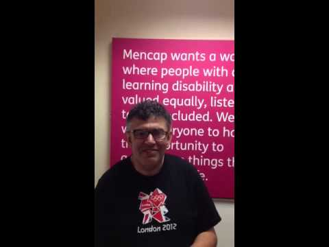 Lloyd tells a joke about a worm - Mencap's comedy competition 2013