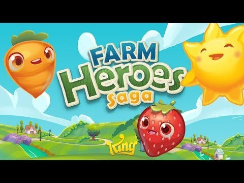 hero - Check out Farm Hero Saga here - http://bit.ly/FarmHeroesSagaGame Leave a LIKE if you enjoyed this video! // For the latest videos, Subscribe! http://bit.ly/iHasCupquakeYT Farm Hero Saga...