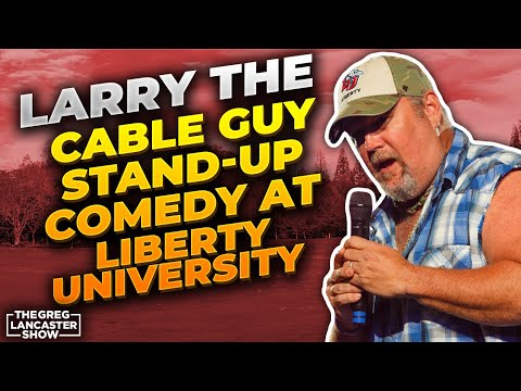 Larry The Cable Guy Stand-Up Comedy at Liberty University & His Awesome Testimony  II VFNtv II