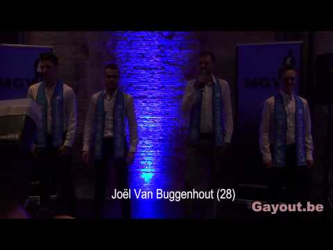 Finalisten Mr Gay Vlaanderen 2015 (видео)