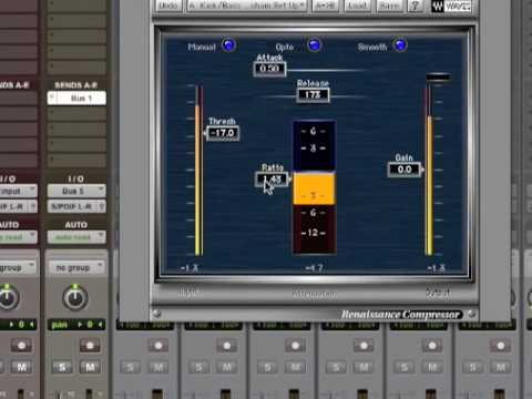 Pumping Kick and Bass – Sidechain Compression