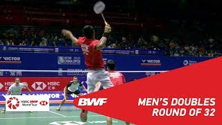 Video R32 | MD | CONRAD-PETERSEN/KOLDING (DEN) [6] vs ANGRIAWAN/HARDIANTO (INA) | BWF 2018 MP3, 3GP, MP4, WEBM, AVI, FLV April 2019