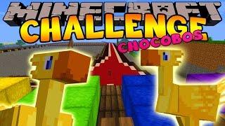 Minecraft Challenge - CHOCOBO RACING  [3]