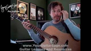 You're Beautiful - James Blunt -  Lefty Beginner Acoustic Guitar Lesson