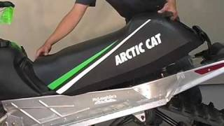 8. Removing Seat - 2010 Arctic Cat Crossfire 600 Snowmobile