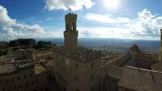 Volterra Italy  city pictures gallery : Volterra, Italy - Flight over the city and its surroundings