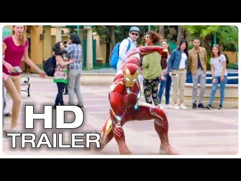 AVENGERS INFINITY WAR Iron Man Trailer (2018) Marvel Superhero Movie HD - Disneyland Commercial