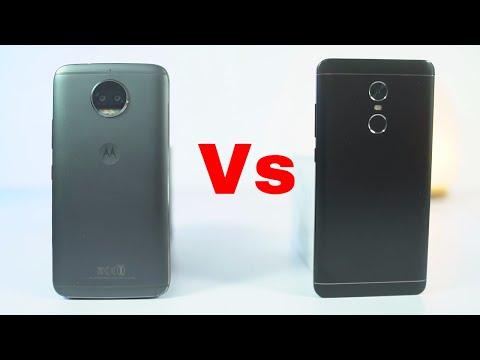 Moto G5s Plus vs Redmi Note 4 Speed Test