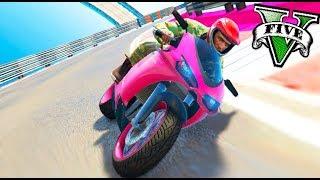 Video MOTOS TROLL PARKOUR IMPOSIBLE DE PASAR !! GTA V ONLINE Makigames MP3, 3GP, MP4, WEBM, AVI, FLV Mei 2018
