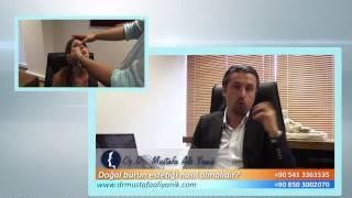 Op. Dr. Mustafa Ali Yanık Doğal burun estetiği nasıl olmalıdır?