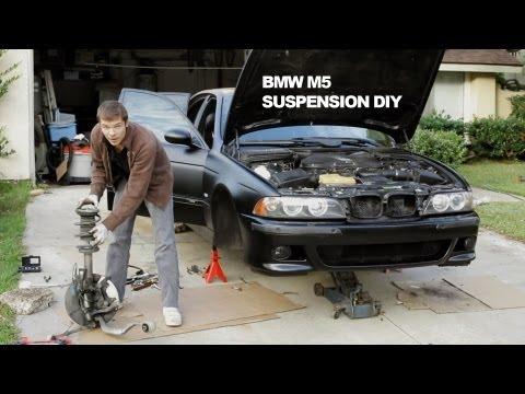 Suspension DIY Repair – BMW M5 Dinan Koni Shocks & Swaybar + PowerFlex Bushings