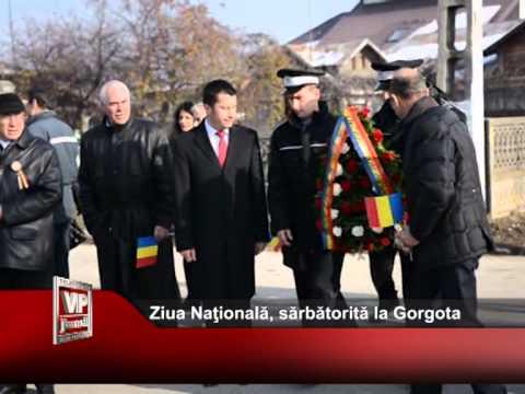 Ziua Natională, sărbătorită la Gorgota