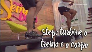 Step: turbine o treino e o corpo