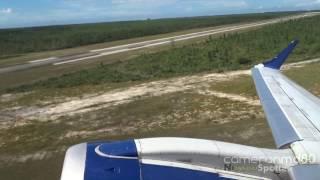 Jetblue Takeoff and Island Flyover   Embraer 190   N284JB   Nassau,Bahamas
