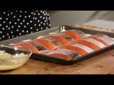 Oven Grill Salmon | Everyday Gourmet S7 E66