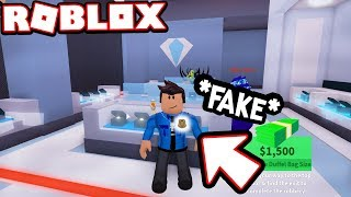 ROBBING THE BANK & JEWELRY STORE AS A FAKE COP!!! *I'M A CRIMINAL* (Roblox Jailbreak)