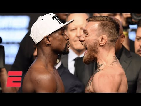 Floyd Mayweather vs. Conor McGregor Official Weigh-In [FULL] | ESPN