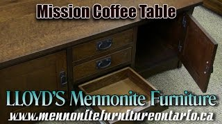 Mennonite Mission Coffee Table