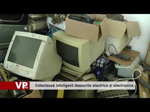 Colectează inteligent deșeurile electrice și electronice