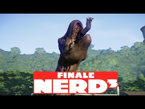 Nerd³ Builds A Jurassic World - Finale - Rampage