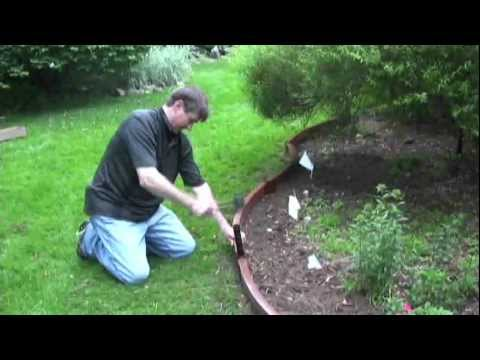 Curved Landscaping Edging (видео)