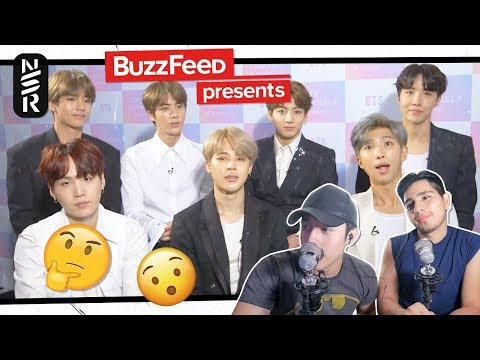GUYS REACT TO 'BTS Take BuzzFeed's