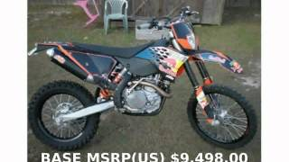 6. 2010 KTM EXC 530 Champions Edition - Specs and Walkaround