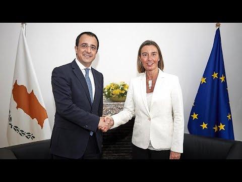 Κυπριακό και Μέση Ανατολή στην συνάντηση Χριστοδουλίδη-Μογκερίνι…