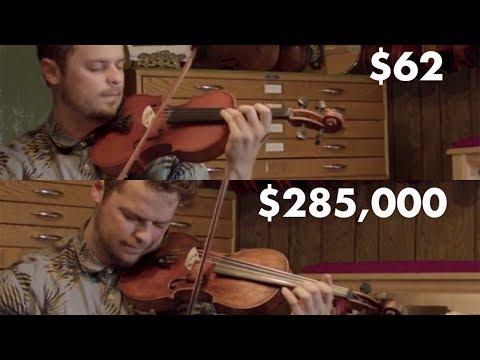 Halvan ja kalliin viulun ero