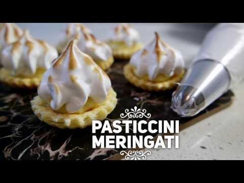 pasticcini meringati - ricetta