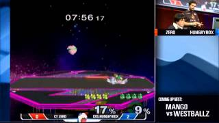 Hungrybox gets his revenge on Zero using 10 successful rests in a single match.