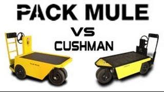 2. Pack Mule Stock Chaser vs Cushman Stock Chaser