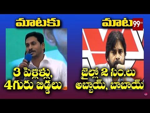 MATAKU MATA : Pawan Kalyan vs CM YS Jagan   Janasena vs YSRCP