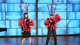 Jennifer and Ellen Play Hoop Dee Do Me