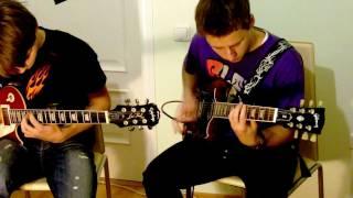 Kiss - Detroit Rock City Dual Guitar Cover