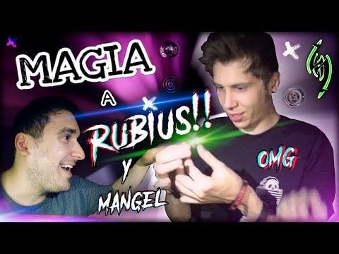REACCIONE ÉPICAS A MI MAGIA Ft. Rubius y Mangel