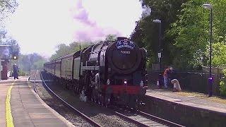 Midgham United Kingdom  city photos : Steam returns, Britannia on the GB VIII.