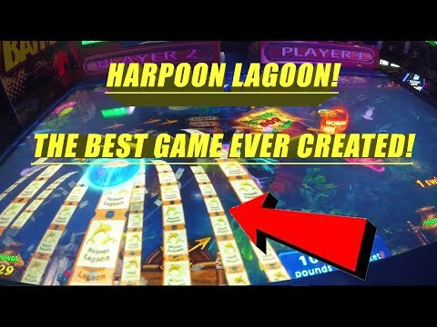 Harpoon Lagoon !  The Greatest Arcade Game You Might Not Be Playing !