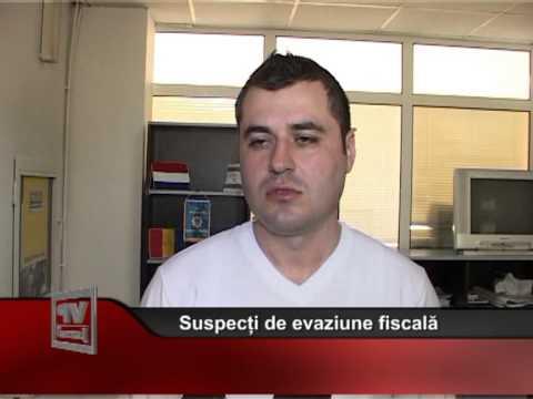 Suspecți de evaziune fiscală
