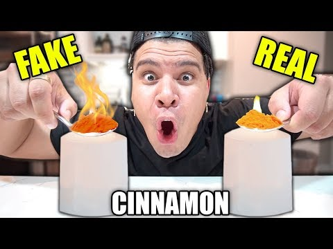 Testing If My Food is REAL or FAKE 2!! **Found THIS in my FOOD**